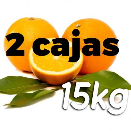 Naranja de mesa  2x 15kg