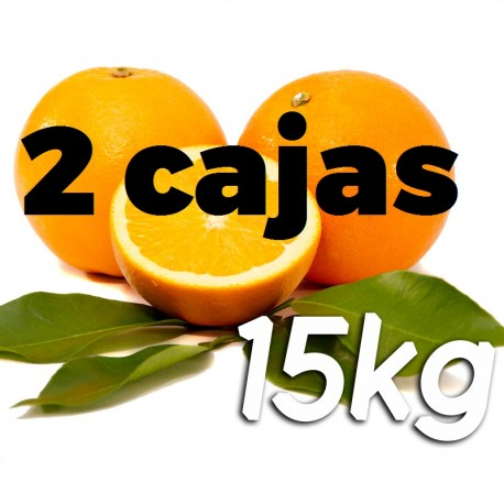 Table oranges 2x 15kg