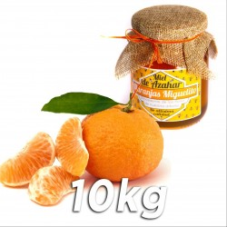 Pack 350gr of Honey and 10kg of tangerines - Gold Nugget