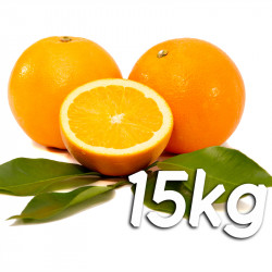 Laranja de mesa 15kg - Navelina